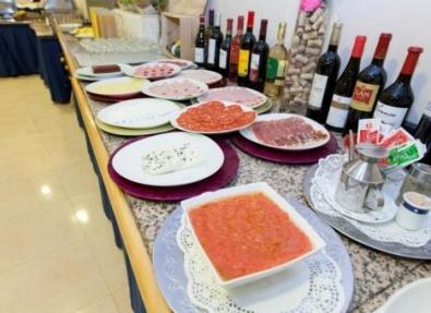 Desayuno Hotel Los Bracos Logroño