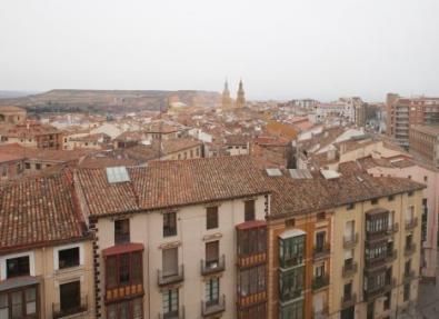 Vistas desde el Hotel Los Bracos Logroño