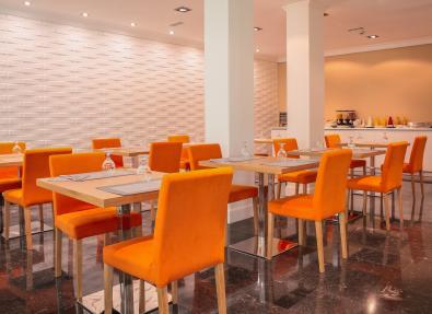Bar restaurante Hotel Serrano Madrid