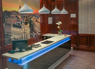 Recepción Hotel Serrano Madrid