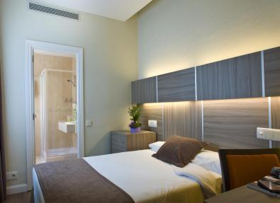Habitación individual Hotel Serrano Madrid