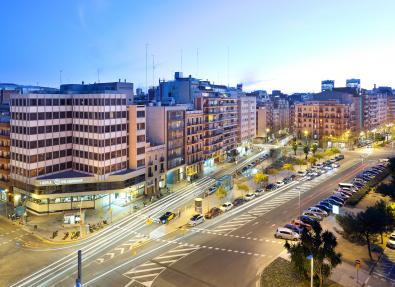 Vistas Habitación Hotel Vialdomat Barcelona