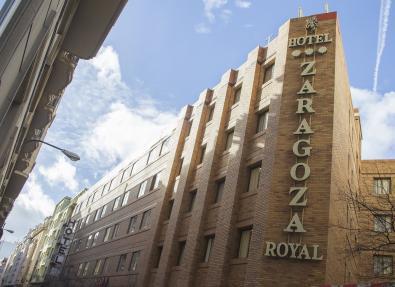 Fachada Hotel Zaragoza Royal