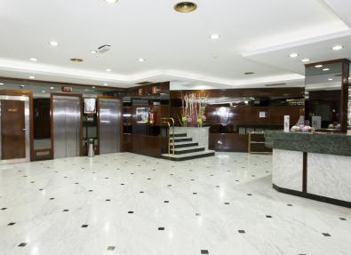 Recepción Hotel Zaragoza Royal