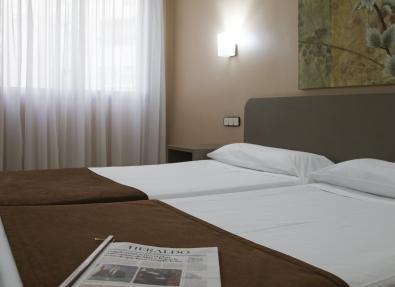 Habitación doble Hotel Zaragoza Royal
